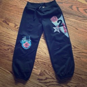 Other - Sweatpants with appliqué